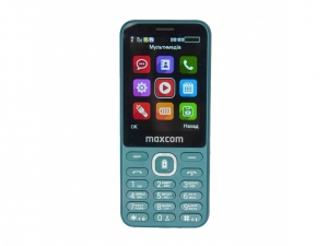 Мобільний телефон Maxcom MM814 Green nalichie