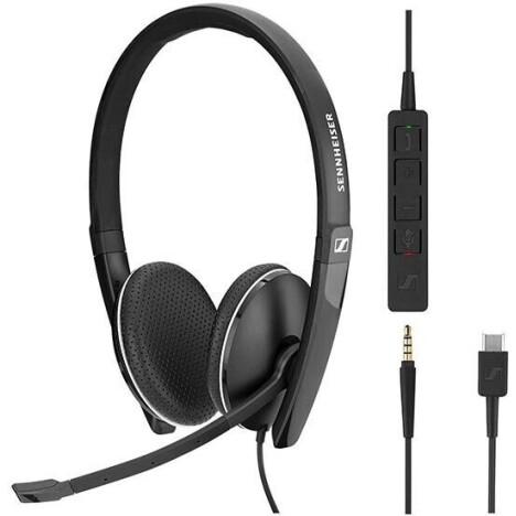 Навушники Sennheiser SC 165 USB / 3.5mm