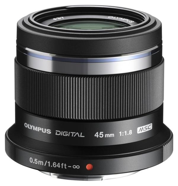 Об'єктив OLYMPUS ET-M7518 45mm 1:1.8 Сріблястий