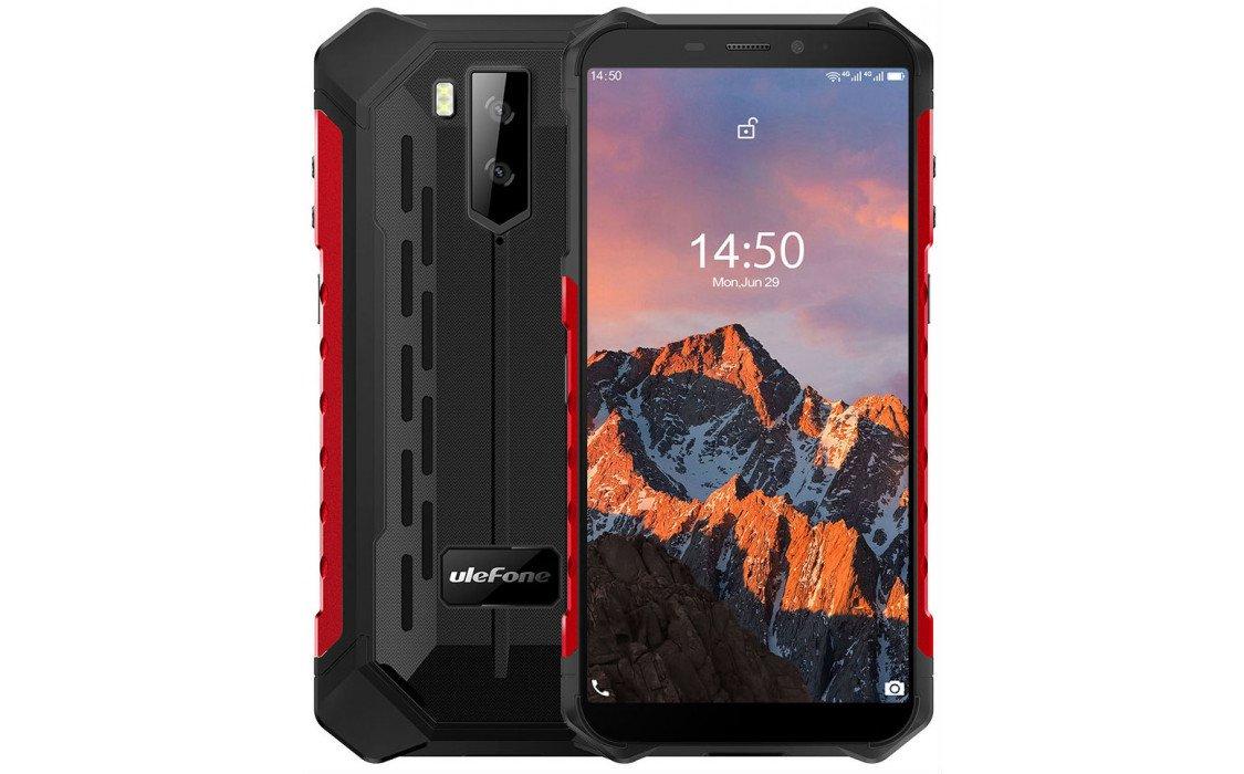Смартфон Ulefone Armor X5 Pro (IP69K, 4/64Gb, NFC, 4G) Red