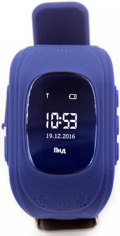 Смарт годинник GOGPS ME K50 Темно синій