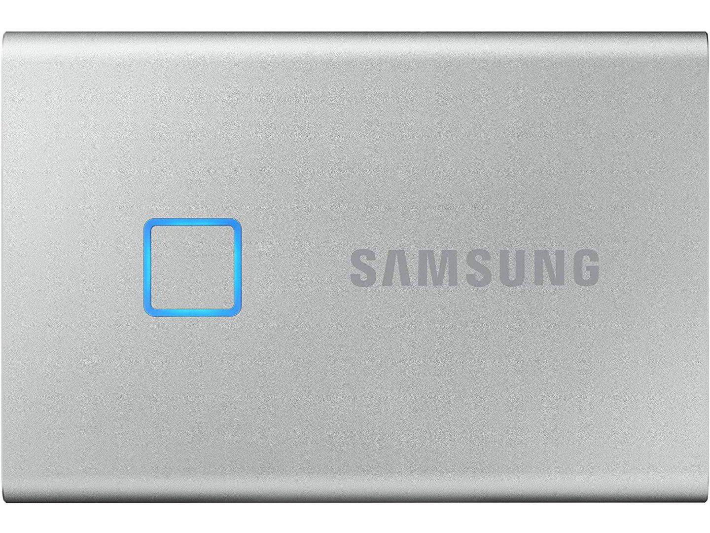 SSD накопичувач Samsung 2TB USB 3.1 Gen T7 Touch Black