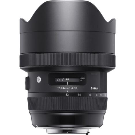 Об'єктив SIGMA AF 12-24/4,0 DG HSM Art Canon