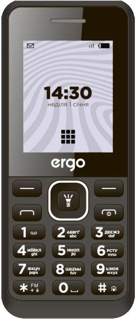Мобільний телефон Ergo B181 Black