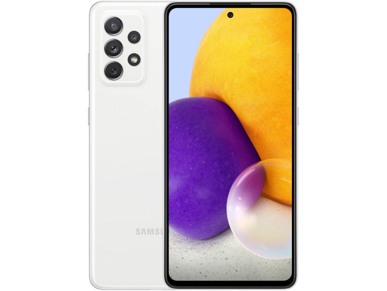 Смартфон Samsung Galaxy A72 6/128GB White (SM-A725FZWDSEK)