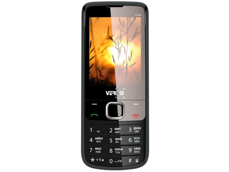 Мобільний телефон Verico Style F244 Black