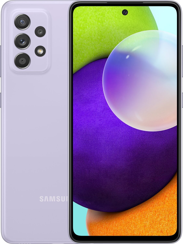 Смартфон Samsung Galaxy A52 4/128GB (SM-A525FLVDSEK) Lavender