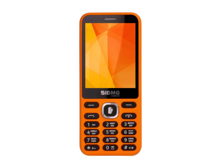 Мобільний телефон Sigma X-style 31 Power Orange