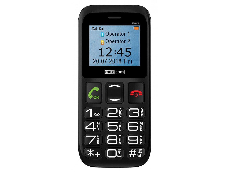 Мобільний телефон Maxcom MM426 Black