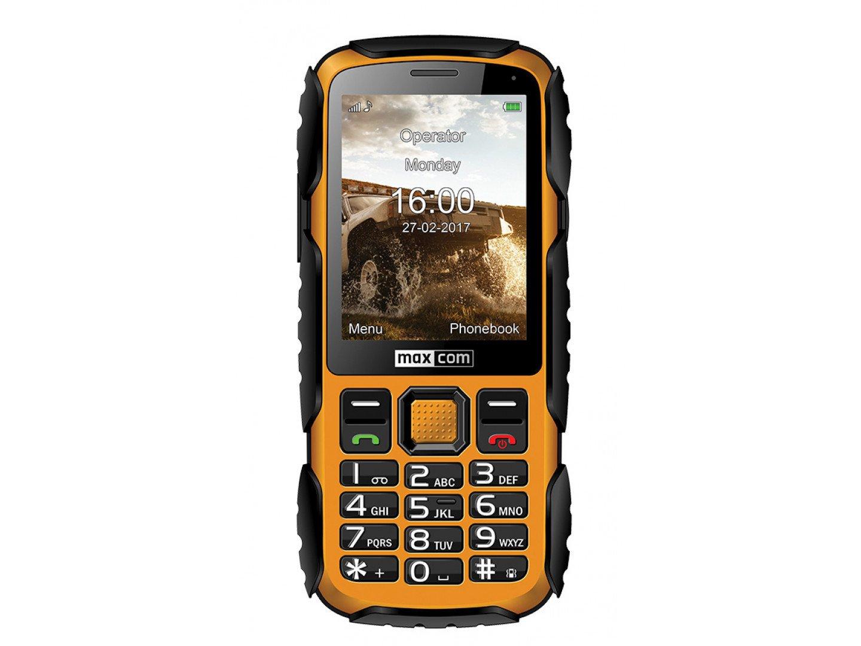 Мобільний телефон Maxcom MM920 black yellow