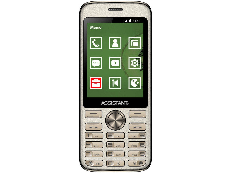 Мобільний телефон Assistant AS 204 Gold