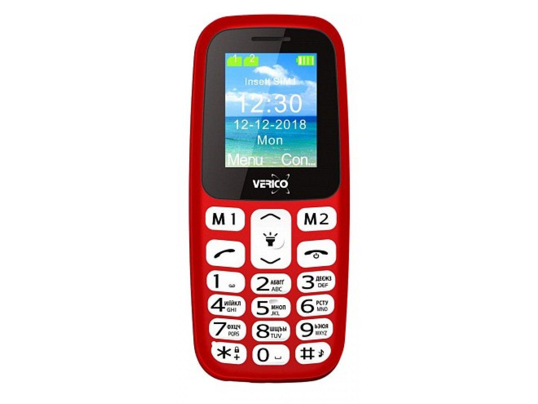 Мобільний телефон Verico Classic A183 Red
