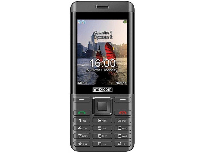 Мобільний телефон Maxcom MM236 Black Gold