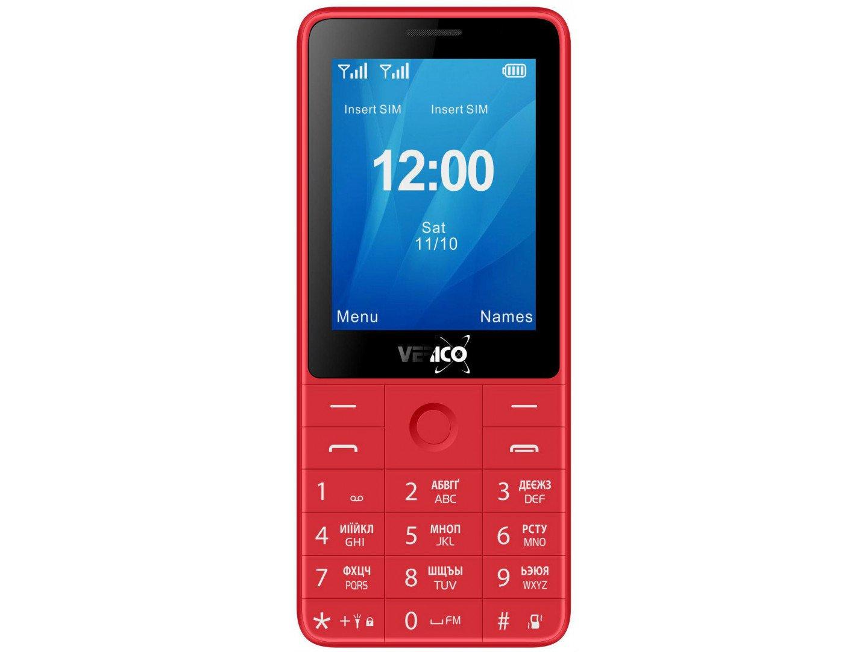 Мобільний телефон Verico Qin S282 Red