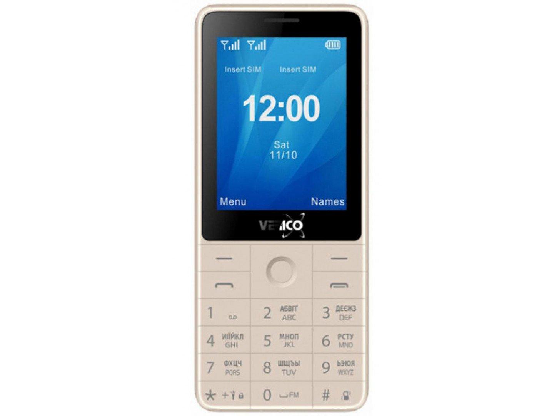Мобільний телефон Verico Qin S282 Gold