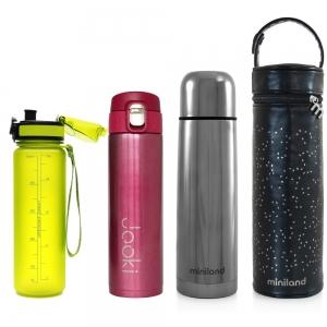 Термоси, термокружки, пляшки для води